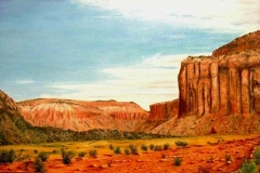Canyonlands, 1997, oil, 24 x 36 in. [01]