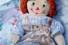 Raggady Ann (Portrait of a Doll), 1990, Oil, 20 x 16 in. [04]