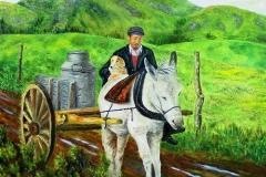 The Irish Milk Run, 2002, oil, 16 x 20 in. [03]