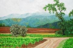 Valle de Santa Ynez, 2002, oil, 16 x 20 in. [06] NA