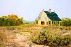 Bob's Barn at Sycamore Springs Ranch, 2002, oil, 20 x 24 in. [27] NA